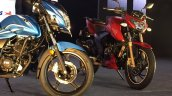 New TVS Victor live and Apache
