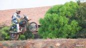 Royal Enfield Himalayan wheelie by CS Santhosh