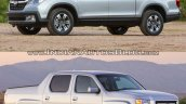 Second-gen 2017 Honda Ridgeline vs first-gen Honda Ridgeline comparision
