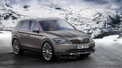 Skoda Kodiak 5-seat rendering (brown)