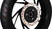 TVS Apache RTR 200 4V alloy wheel leaked