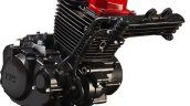 TVS Apache RTR 200 4V engine leaked
