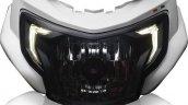 TVS Apache RTR 200 4V headlamp LED DRL leaked