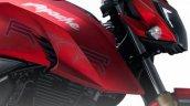 TVS Apache RTR 200 4V red leaked