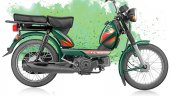 TVS XL 100 4-stroke green