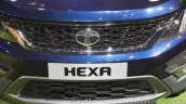 Tata Hexa grille at Auto Expo 2016