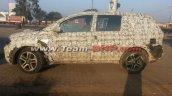 Tata Hexa side camouflaged spyshot