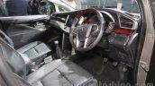 Toyota Innova Crysta dashboard at Auto Expo 2016