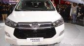Toyota Innova Crysta front angle at Auto Expo 2016