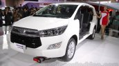 Toyota Innova Crysta front quarter at Auto Expo 2016