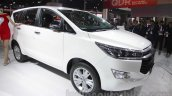 Toyota Innova Crysta front quarters at Auto Expo 2016