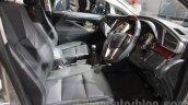 Toyota Innova Crysta front seats at Auto Expo 2016