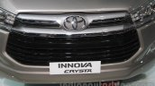 Toyota Innova Crysta grille at Auto Expo 2016