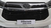 Toyota Innova Crysta grille element at Auto Expo 2016