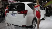 Toyota Innova Crysta rear quarters at Auto Expo 2016