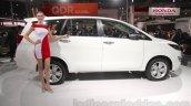 Toyota Innova Crysta side at Auto Expo 2016
