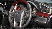 Toyota Innova Crysta steering at Auto Expo 2016