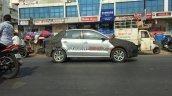 VW sub-4m sedan side spotted testing