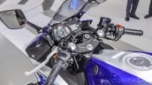 2015 Yamaha R3 handlebar at Auto Expo 2016