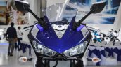 2015 Yamaha R3 headlamps at Auto Expo 2016