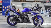 2015 Yamaha R3 side at Auto Expo 2016