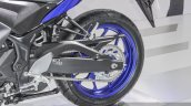 2015 Yamaha R3 swingarm at Auto Expo 2016