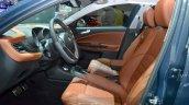 2016 Alfa Romeo Giulietta (facelift) front seat at the 2016 Geneva Motor Show