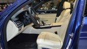 2016 Alpina B7 Bi-Turbo front cabin at the 2016 Geneva Motor Show Live