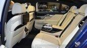 2016 Alpina B7 Bi-Turbo rear seats at the 2016 Geneva Motor Show Live
