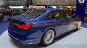 2016 Alpina B7 Bi-Turbo rear three quarter at the 2016 Geneva Motor Show Live