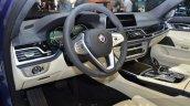 2016 Alpina B7 Bi-Turbo steering wheel at the 2016 Geneva Motor Show Live