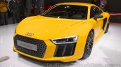 2016 Audi R8 front quarter at the Auto Expo 2016