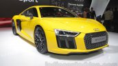 2016 Audi R8 front three quarter right at the Auto Expo 2016