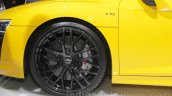 2016 Audi R8 wheel at the Auto Expo 2016