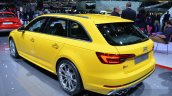 2016 Audi S4 Avant rear left three quarter at 2016 Geneva Motor Show