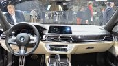 2016 BMW 7 Series M760Li xDrive dashboard at the 2016 Geneva Motor Show Live