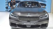 2016 BMW 7 Series M760Li xDrive front at the 2016 Geneva Motor Show Live