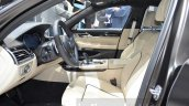 2016 BMW 7 Series M760Li xDrive front cabin at the 2016 Geneva Motor Show Live