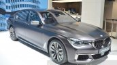 2016 BMW 7 Series M760Li xDrive front three quarter at the 2016 Geneva Motor Show Live