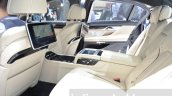 2016 BMW 7 Series M760Li xDrive rear cabin at the 2016 Geneva Motor Show Live
