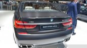 2016 BMW 7 Series M760Li xDrive rear quarter at the 2016 Geneva Motor Show Live