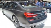 2016 BMW 7 Series M760Li xDrive rear three quarter at the 2016 Geneva Motor Show Live