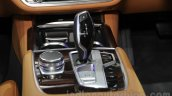 2016 BMW 7 Series gear selector at Auto Expo 2016