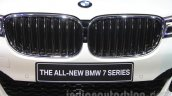 2016 BMW 7 Series grille at Auto Expo 2016