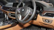 2016 BMW 7 Series interior at Auto Expo 2016