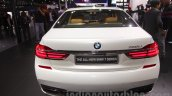 2016 BMW 7 Series rear at Auto Expo 2016