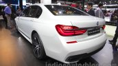 2016 BMW 7 Series rear quarter at Auto Expo 2016