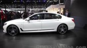 2016 BMW 7 Series side at Auto Expo 2016