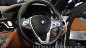 2016 BMW 7 Series steering at Auto Expo 2016