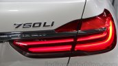 2016 BMW 7 Series taillight at Auto Expo 2016